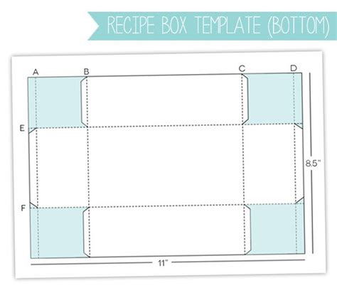Templates For Cardstock Boxes | style watch recipe box gift set damask love