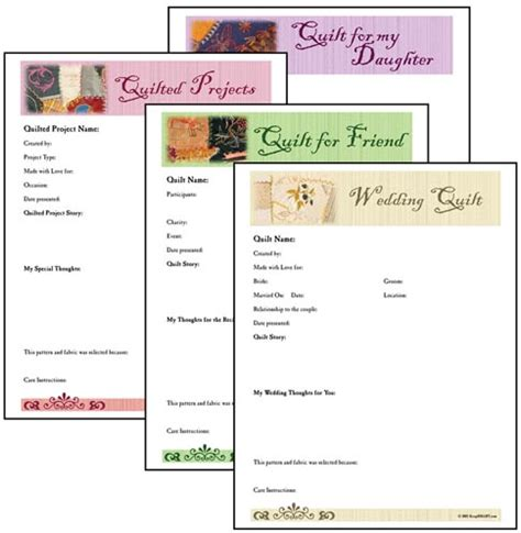 quilt journal template free printable quilt journal pages templates calendar