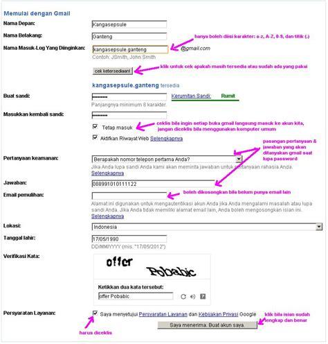 membuat email lewat gmail   berita  info