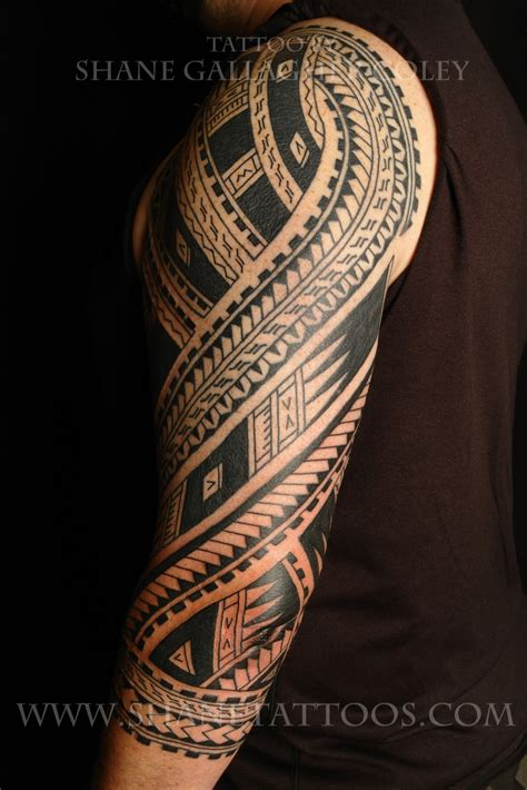 latest polynesian tattoo designs maori polynesian polynesian sleeve