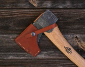 council tool jersey pattern axe leather axe sheath council tool jersey pattern brown