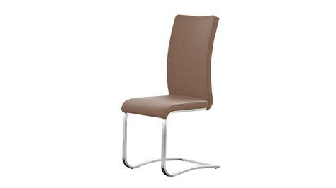 stuhl cappuccino stuhl arco freischwinger 4er set in cappuccino und edelstahl