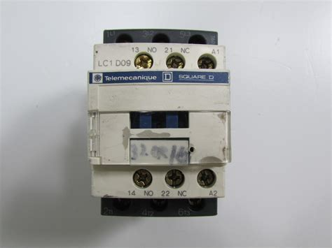 Magnetic Contactor 3p 9a Lc1d09 220vac Schneider telemecanique lc1d09 hjem lys