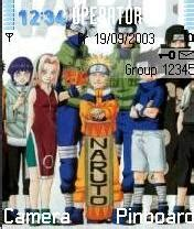 themes naruto e63 download all team nokia theme mobile toones
