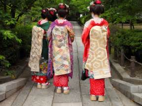 Japanese culture costume kimono
