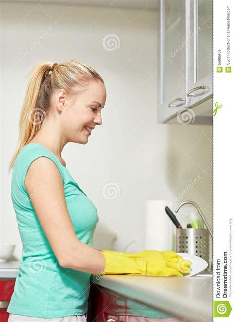My Happy Kitchen Snow Kulkas happy washing dishes at home kitchen stock image cartoondealer 63398275