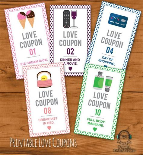 free printable dirty love coupons for him printable romantic love coupons instant download
