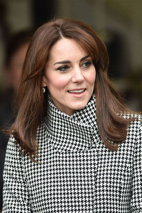 duchess kate shows off her new hairstyle picture the kate has revealed she isn t happy with her latest