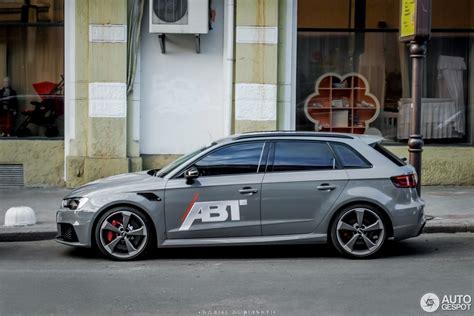 Audi Rs3 Abt by Audi Abt Rs3 Sportback 8v 31 Mai 2016 Autogespot