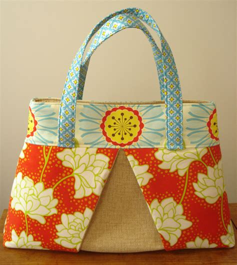 Handmade Bag Patterns Free - my calico free bag pattern and sew along