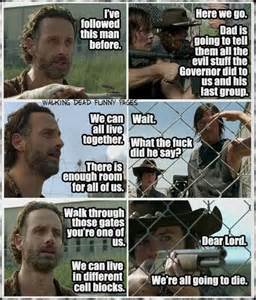 Walking Dead Season 4 Memes - 17 best images about the walking dead on pinterest best