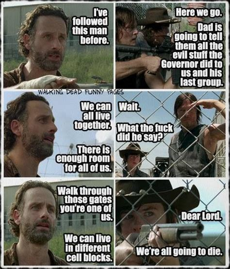Walking Dead Memes Season 4 - 17 best images about the walking dead on pinterest best