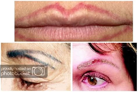tattoo eyeliner gone wrong permanent make up think before you ink