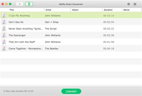 music conveter download free on mac os x 10 12 sidify music converter via