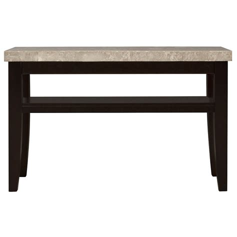 marble console table city furniture monark marble console table