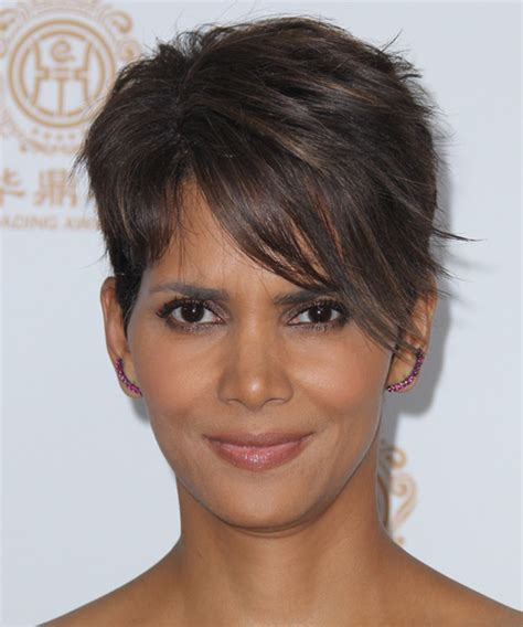 back view of halle berry hair halle berry bob hairstyle short hairstyle 2013