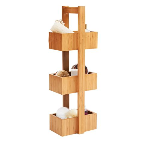 Wilko Storage Free Standing Bamboo Deal At Wilko Offer Wilkinson Bathroom Storage