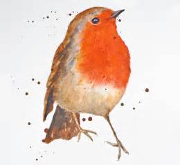 what color is a robin demo how to paint a robin in watercolour eastwitching