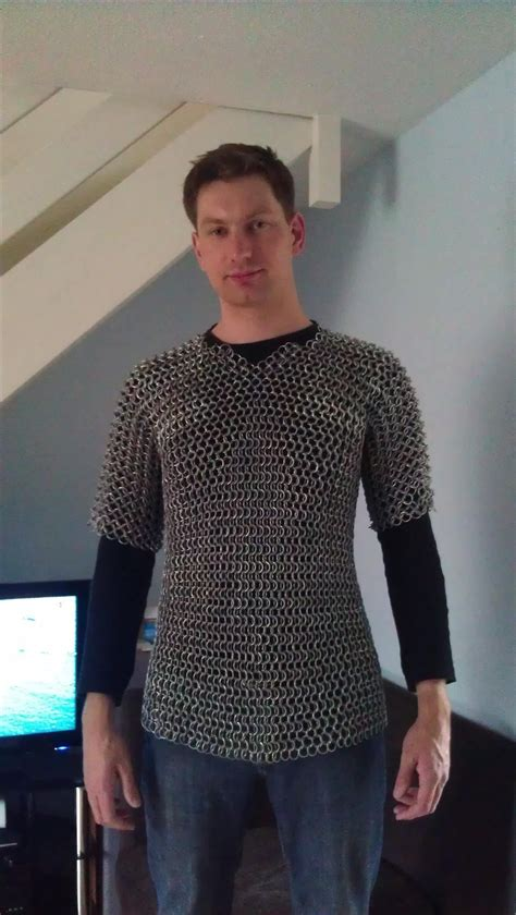 how to make chain how to make chain mail armor from start to finish