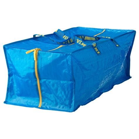 ikea shopping bags frakta trunk for trolley blue 76 l ikea