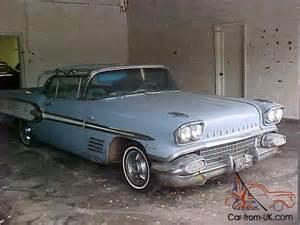 1958 Pontiac Bonneville For Sale 1958 Pontiac Bonneville Convertible Highly Optioned 100