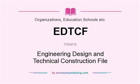 design engineering meaning what does edtcf mean definition of edtcf edtcf stands
