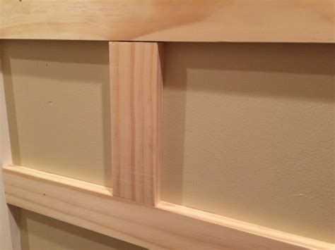 Wainscoting Squares How To Install Board And Batten Wainscoting White Painted