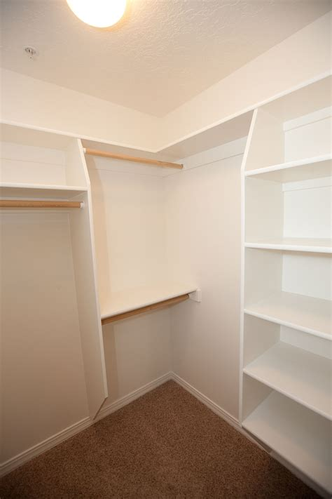 built in closet shelving the apartments