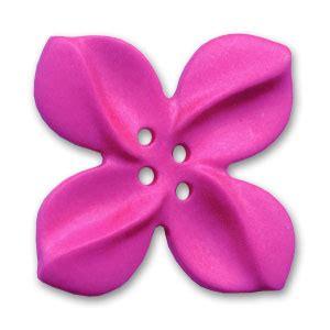fiore di tiare bottone fiore di tiar 232 mm 30 fucsia x1 perles co