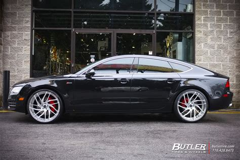 Audi A7 Wheels by Audi A7 With 22in Savini Sv62d Wheels Exclusively From