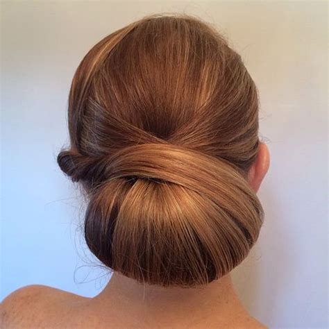 casual chignon hairstyles 40 chic chignon buns that bring the class into formal and