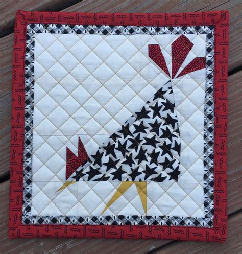 quilt pattern rooster 78 best images about fabric chickens on pinterest quilt