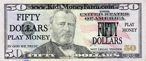 download printable fake money best photos of play money template dollar bill printable