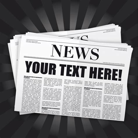 graphic design newspaper layout elements of newspaper design vector graphics 01 over
