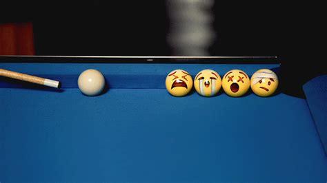custom pool table balls emoji painted billiard balls take on playful personalities