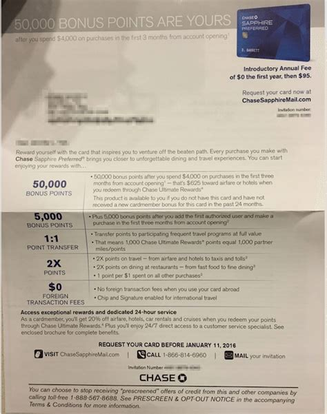 Credit Card Invitation Letter Bypass 5 24 Getting A Pre Approved Credit Card Offer Doctor Of Credit