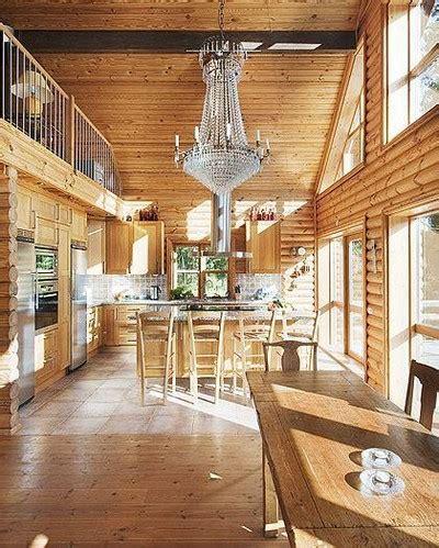 Log Cabin Homes Interior timmerhus malin inredare