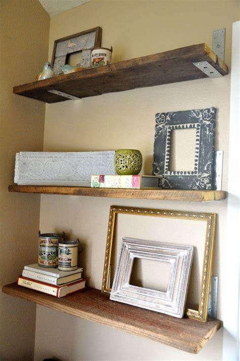 binkies burlap homemade shelves
