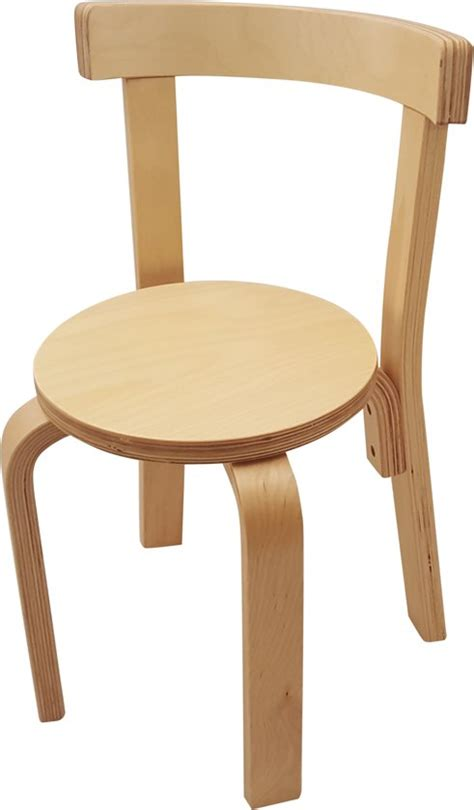 houten stoel voor kind bol playwood houten stoel voor kinderen ronde