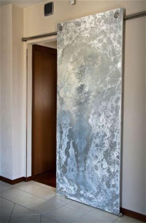 porte in resina porta bifacciale in resina resine design