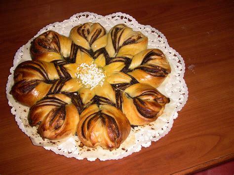 fiore nutella brioche a fiore con nutella