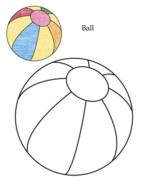 Ball Coloring Page Coloring Home Free Balls Coloring Pages
