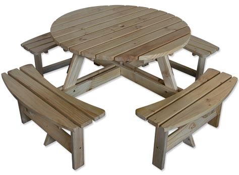 Pine Wood Bench by Maribelle 8 Seater Garden Bench Natural Furniture
