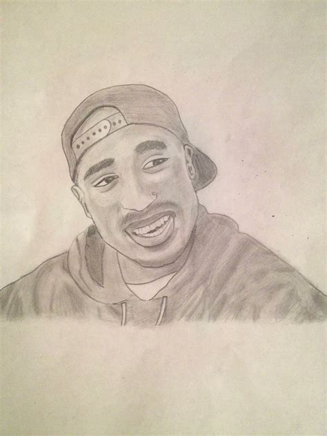 Drawing 2pac by 2pac Drawing By Seanjj On Deviantart
