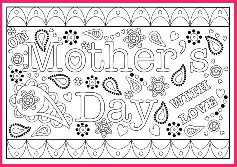 Clark Mothers Day Card Templates by S Day Card Template Bio Letter Format