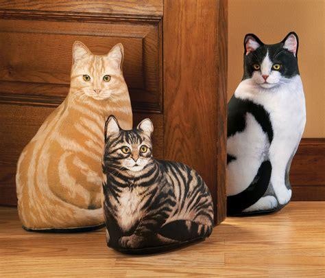 cat door stopper pattern kitty door stopper calico cat door stop decorative door