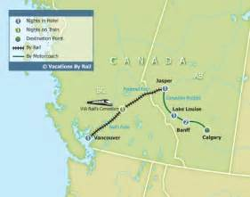 the rockies canada map canadian rockies by rail