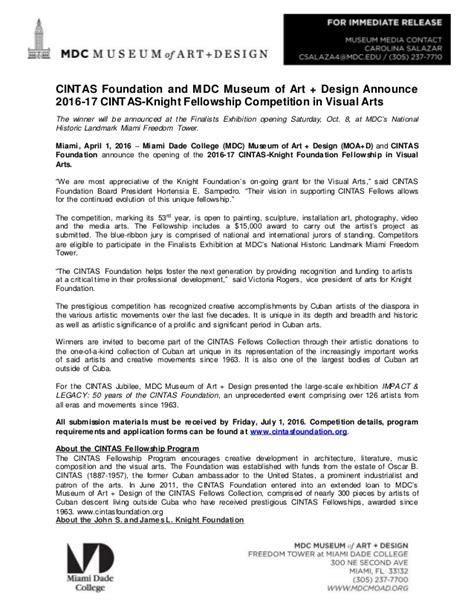 the art of email design designcontest cintas foundation and mdc museum of art design announce