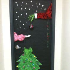 christmas door decorations for work santas workshop workshop and door on