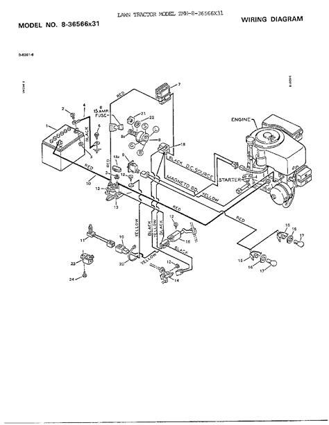 murray mower parts diagram wiring diagram diagram parts list for model 836566x31